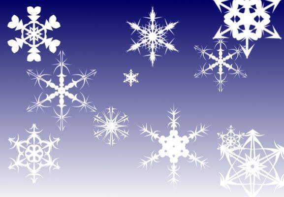 gimpbrushes-snowflake