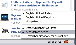 Dictionary Switcher for Firefox