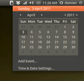 ubuntu-natty-calendar-appindicator