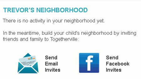 Togetherville-invites