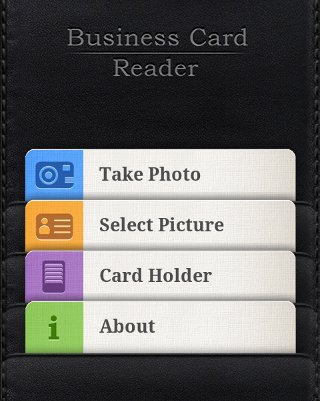 Business card reader easily add a contact to your android phone your camera will load and you will be prompted to take a picture of the business card colourmoves