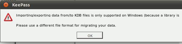 keepass2-import-error