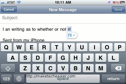 Autocorrect-Typing