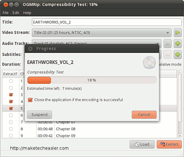 Testing compressibility