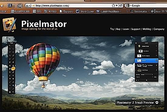 Pixelmator-Site