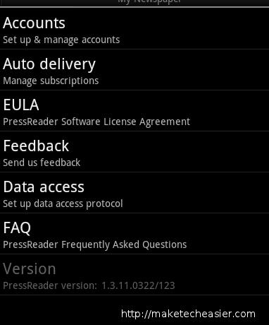 pressreader-settings