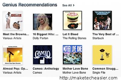 Genius-Recommendations
