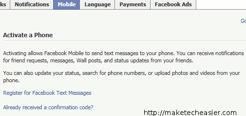 facebook-activate-phone