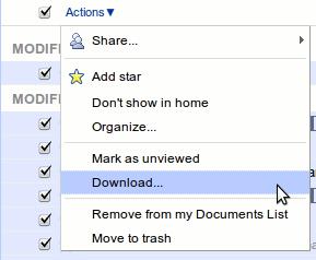 google-action-menu-download