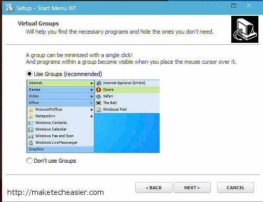 startmenuxp-select-group-option