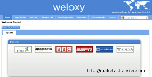 weloxy-start
