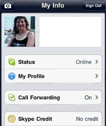 Skype-Forwarding