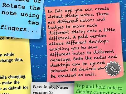 Notes-abcNote