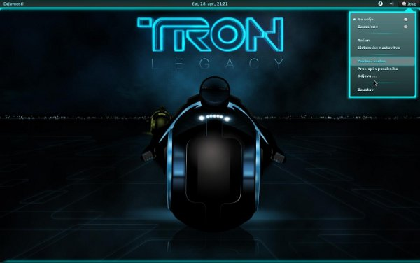 gnome-shell-theme-tron