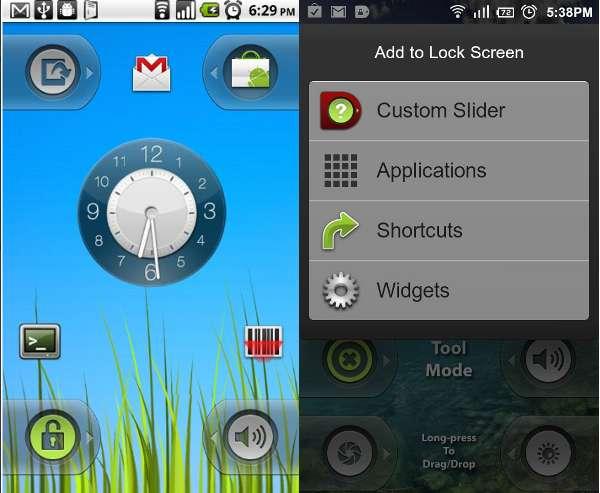 lockscreen-widget-locker