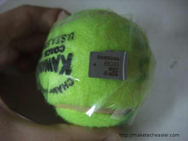 sdcard-on-tennis-ball
