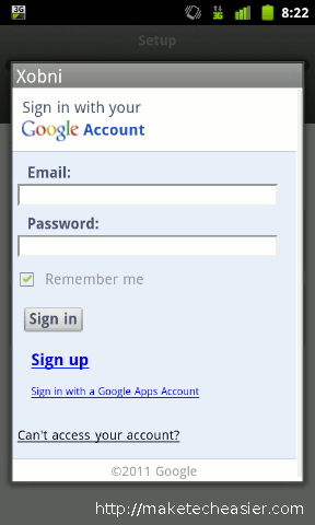 xobni-android-authorize-gmail
