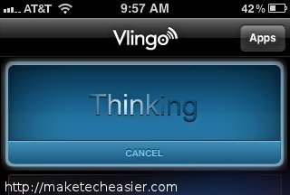 Vlingo-Thinking