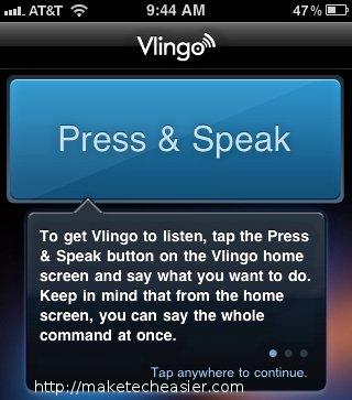 Vlingo-Tutorial