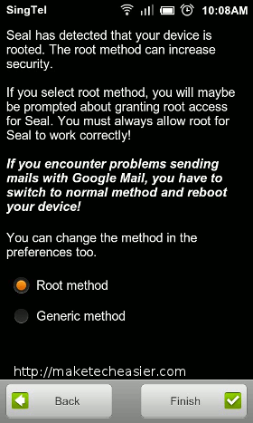 seal-root-method