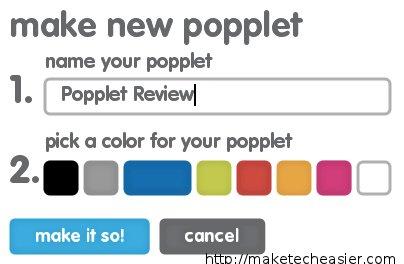 Popplet-New