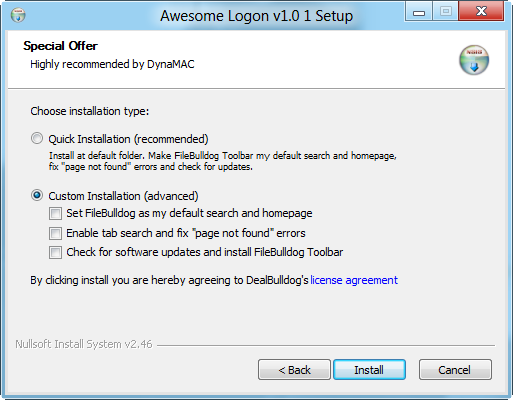 awesome logon-special offer