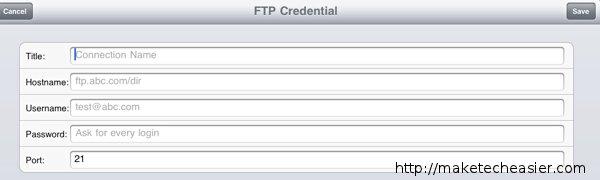 iFTP-Setup