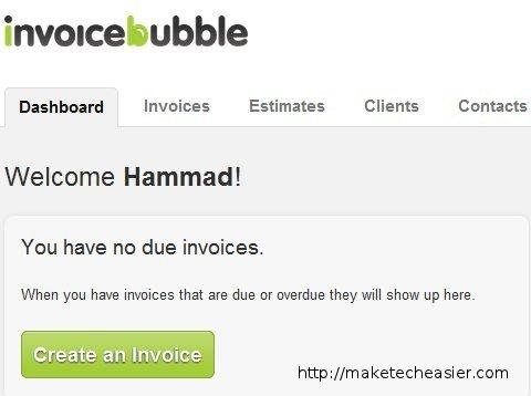 Invoicebubble