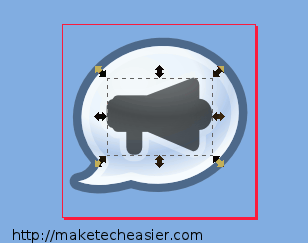 editing a system tray icon in Inkscape