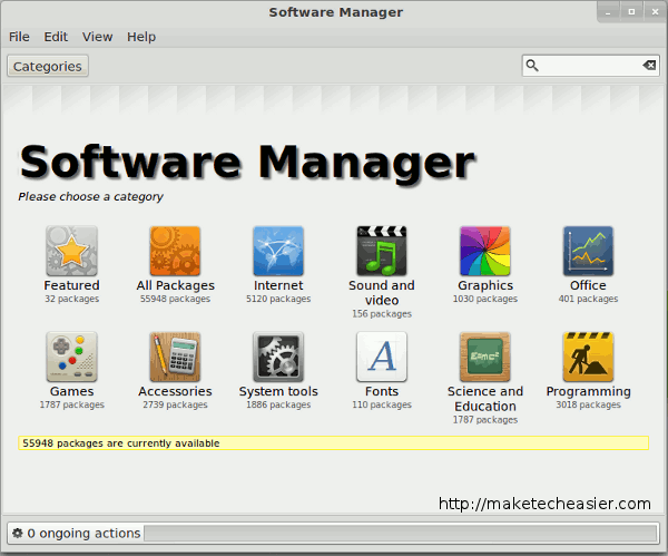 linuxmint-software-manager