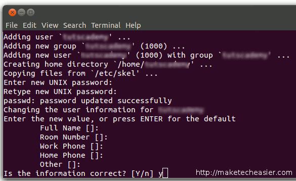 ubuntu-adduser