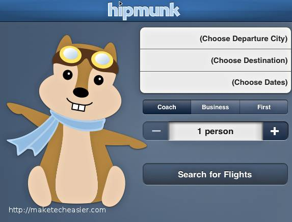 Flight Planning Made Easy With Hipmunk App For iOS
