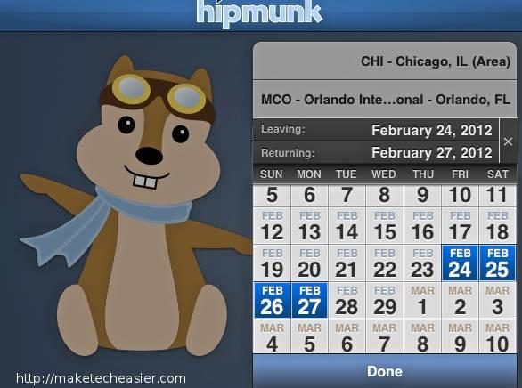 Hipmunk-Dates