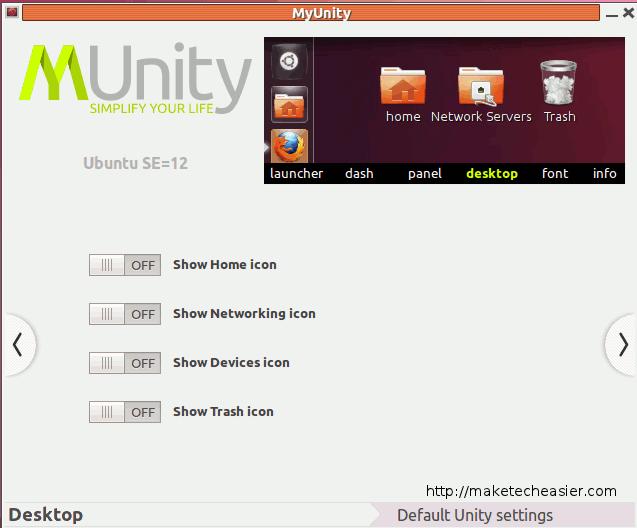 myunity-desktop