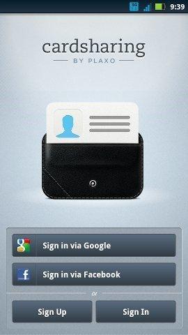 small biz apps-cardshare