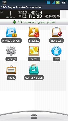 small biz apps-private call