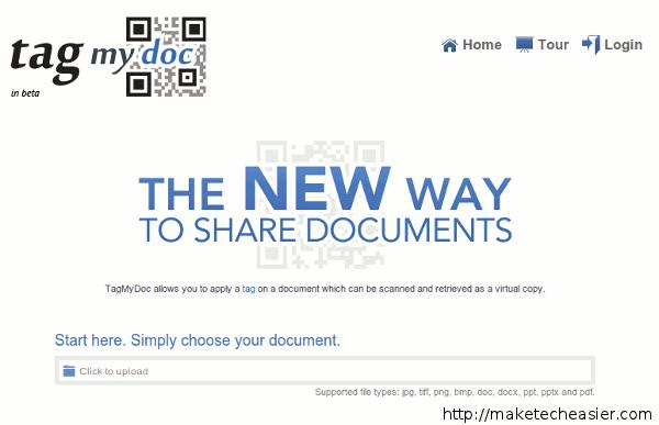 tagmydoc-homepage