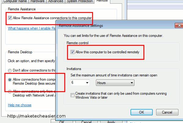 how to open remote desktop port 3389