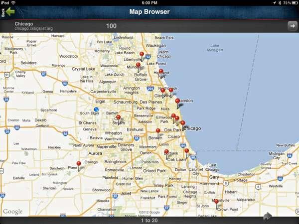 Craigslist-Map