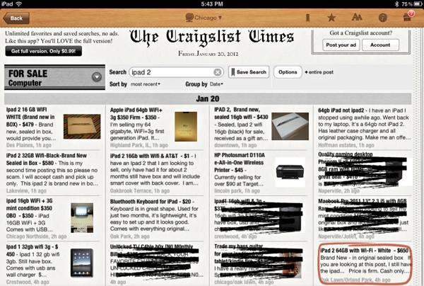 Craigslist-TimesCrossout