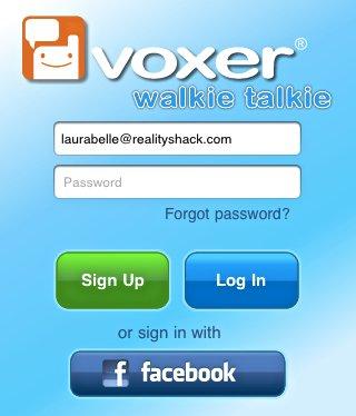 Voxer-Facebook
