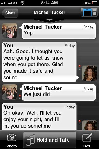 Voxer-Text