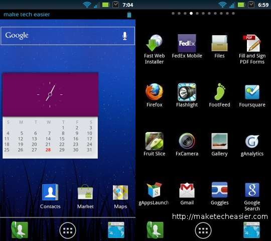 android launcher-ics