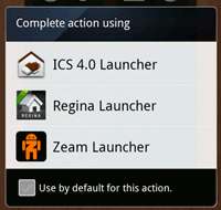android launcher-intro