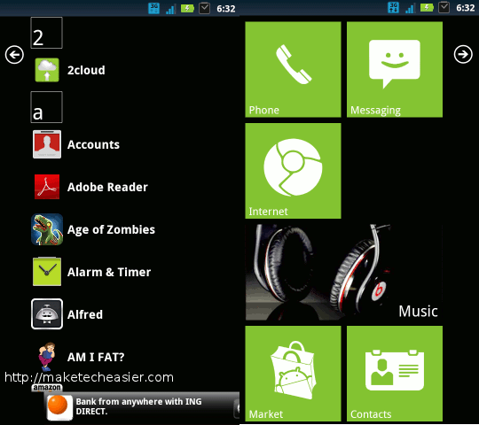 android launcher-launcher 7