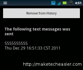 androidonweb-sms sent