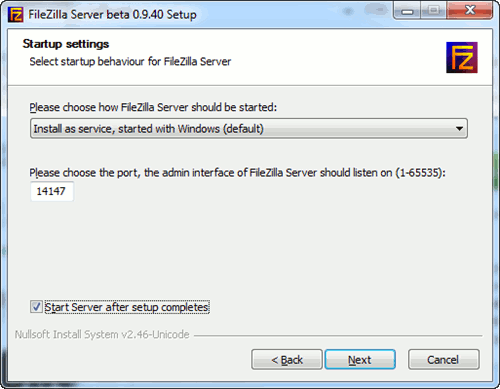 fileZilla-selecting-the-port