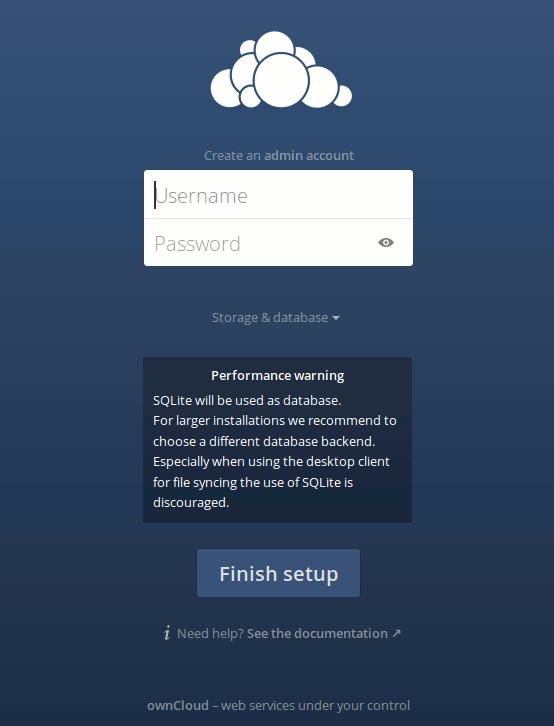 owncloud-server-first-run
