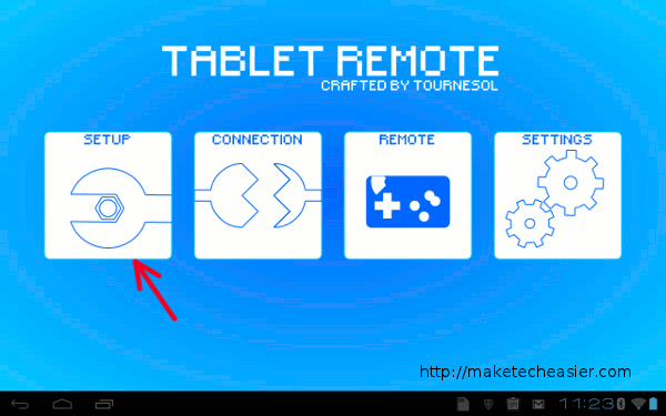tablet-remote-tablet-setup