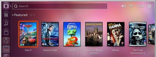 Ubuntu TV featured videos